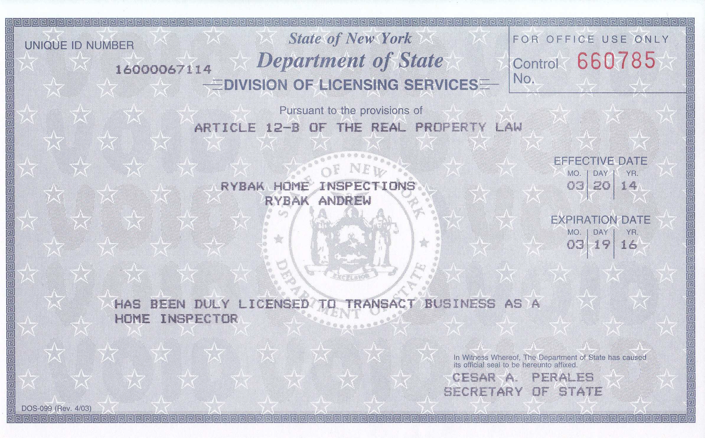 Rybak Home Inspections About Us